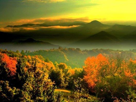 Есенни пейзажи от Родопите