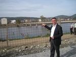 """Отвориха за движение на пешеходци новоизградения път в парк """"Арпезос-Север"""" в Кърджали"""