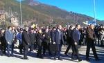 Премиерът в оставка  Борисов откри новопостроеното околовръстно шосе в Смолян