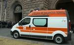 """Медиците от Спешен център в Смолян подкрепят колегите си в столицата с надписи """"Протест"""""""