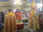 Архимандрит Висарион отслужи молебен да няма повече наводнения и природни бедствия