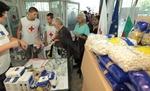 И в Кърджали започна раздаването на хранителните помощи от ЕС за бедните