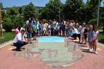 3D рисунка краси центъра на Ардино
