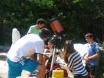 """Школата по астрономия на """"Белите брези"""" - Ардино и Южноевропейската обсерватория """"Паранал"""" осъществиха телевръзка"""