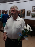 Вдъхновен от Родопите русенски художник откри изложба в Смолян