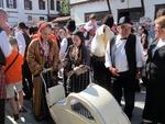 """Възстановката """"Един пазарен ден в Стария Златоград"""" – кулминация на Делювите празници"""