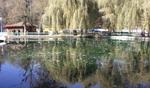 """Чистят езерото """"Клептуза"""" във Велинград"""