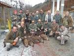 14 диви прасета за три ловни излета бяха отстреляни от рудоземски ловджии