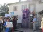 Устово блокира пътя Пловдив-Гърция заради строежа на ТЕЦ
