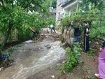 Общински път за три смолянски села е прекъснат от проливните дъждове