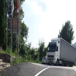 """Унгарски  TIR """"превзе"""" граничния пункт при Златоград"""