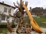 Могилица си направи нова гигантска лъжица