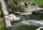 Река Арда побеля при Дяволския мост, заради мандраджии